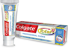 Colgate<sup>®</sup> Total 12 Professional Clean