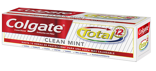 Crema Dental Colgate<sup>&reg;</sup> Total 12 Clean Mint
