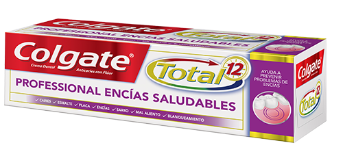Crema Dental Colgate Total<sup>&reg;</sup> 12 Professional Encías Saludables
